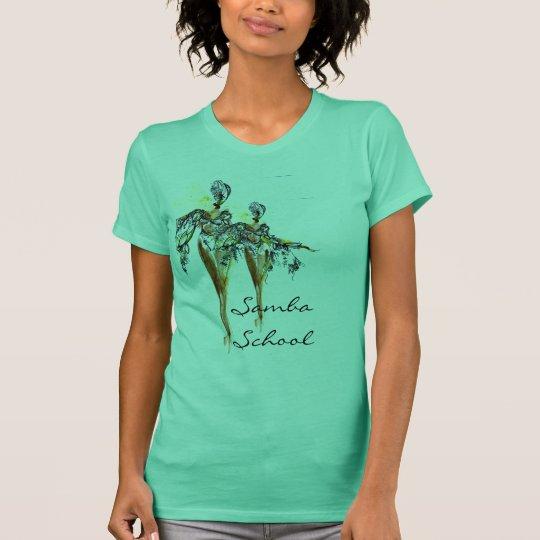 Samba school women's vest top