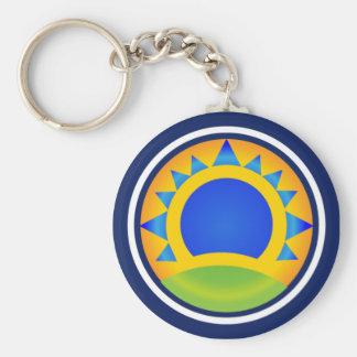 Samba Sunrise Keychain
