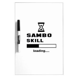 Sambo skill Loading...... Dry Erase Board