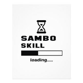Sambo skill Loading...... Letterhead