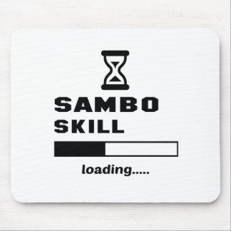 Sambo skill Loading...... Mouse Pad