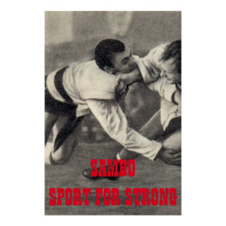 Sambo Sport Will be Strong Poster