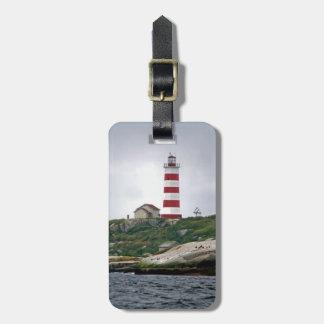 Sambro Island Lighthouse Bag Tag