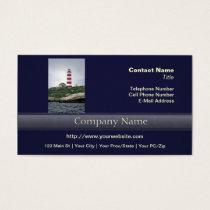 Sambro Island Lighthouse Business Card