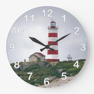 Sambro Island Lighthouse Large Clock