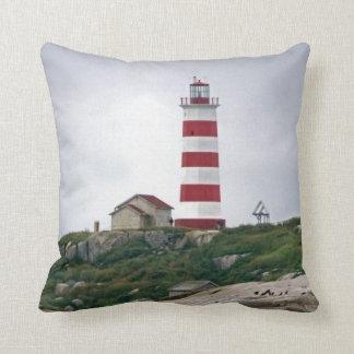 Sambro Island Lighthouse Pillow