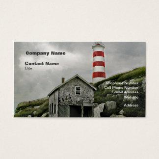 Sambro Lighthouse,  Sambro Island, Nova Scotia Business Card