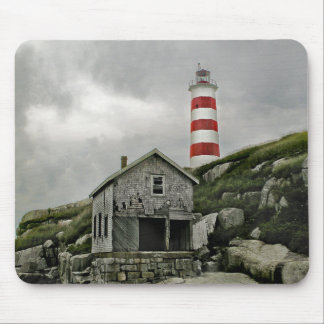Sambro Lighthouse, Sambro Island, Nova Scotia Mouse Pad