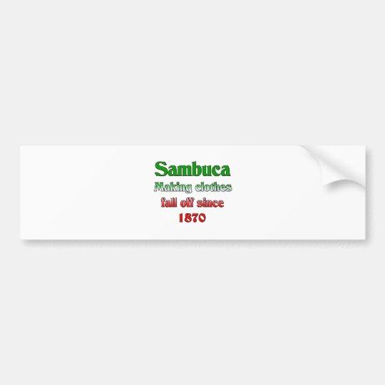 Sambuca Bumper Sticker