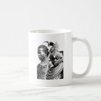 Samburu Boy and Girl Coffee Mug