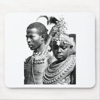 Samburu Boy and Girl Mouse Pad