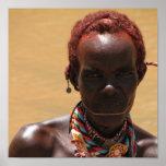 Samburu Tribesman Poster