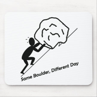 Same Boulder, Different Day Mouse Pad