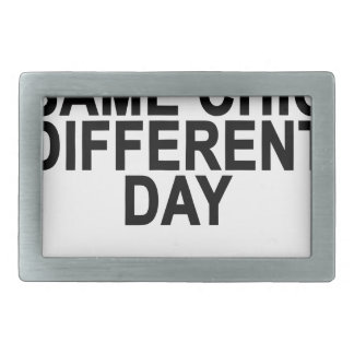 Same Chic Different Day T-Shirts.png Rectangular Belt Buckle