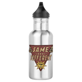 Same Crap Different Day Novelty Water Bottle