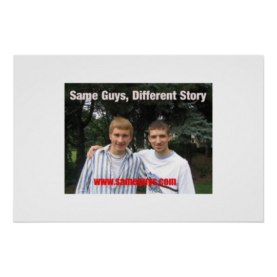 Same Guys, Different Story Poster