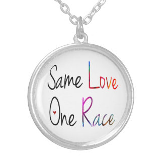 Same Love, One Race Necklace