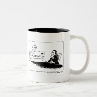 Same Old Politics? Two-Tone Coffee Mug