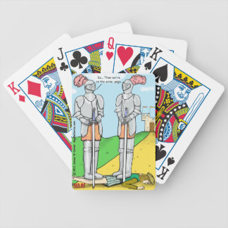 """""""Same Page"""" Bicycle Playing Cards"""