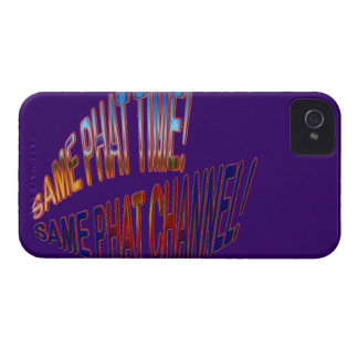 Same Phat Time! Same Phat Channel! Mens and Womans iPhone 4 Cover