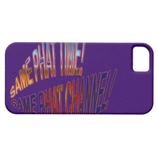 Same Phat Time! Same Phat Channel! Mens and Womans iPhone SE/5/5s Case