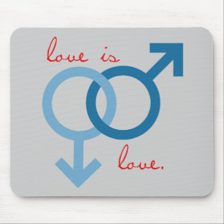 Same-Sex Love (Male) Mouse Pad