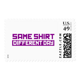Same shirt different day postage