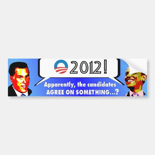 Same things, Say it louder Bumper Stickers