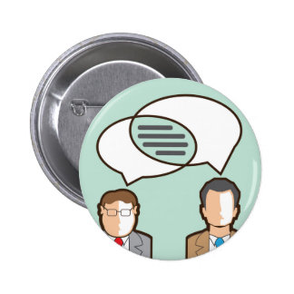 Same Thoughts Vector illustration Button