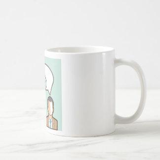 Same Thoughts Vector illustration Coffee Mug
