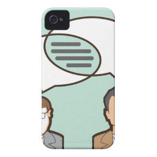 Same Thoughts Vector illustration iPhone 4 Cover