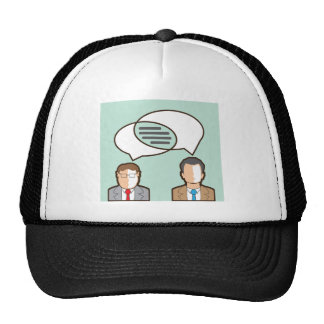 Same Thoughts Vector illustration Trucker Hat