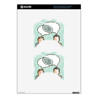 Same Thoughts Vector illustration Xbox 360 Controller Skins