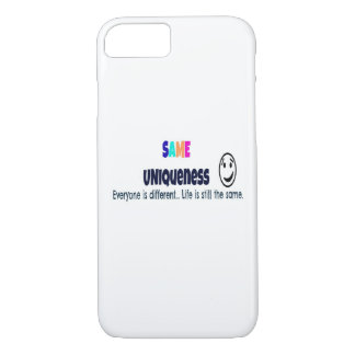 Same Uniqueness iPhone 7 case