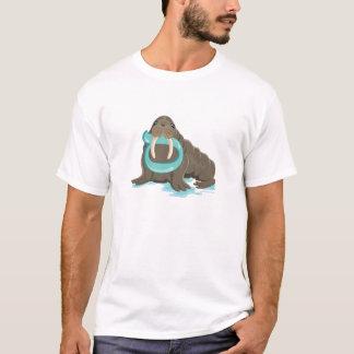 Samech the Walrus, Hebrew Aleph Bet (Alphabet) T-Shirt