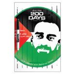 Samer al Issawi hunger strike Dry-Erase Boards