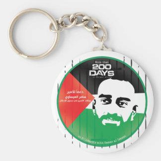 Samer al Issawi hunger strike Keychain