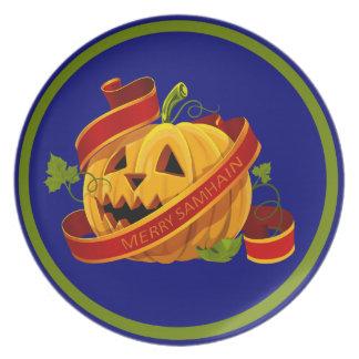 """Samhain 10"""" Melamine Plate"""