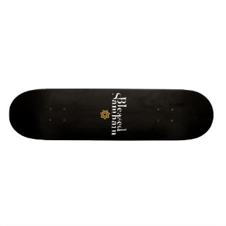 Samhain bendecido skate board