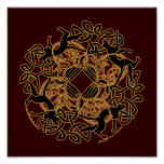 Samhain Cats Celtic Art Prints