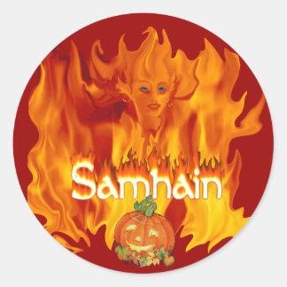 Samhain Celebration Sticker