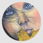 Samhain fairy beauty Sticker