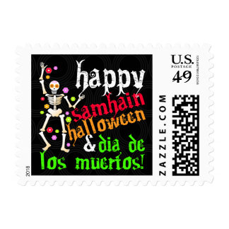 ¡Samhain feliz, Halloween y Dia de los Muertos! Envio