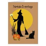 Samhain Greetings Card