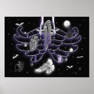 Samhain Night print. Poster