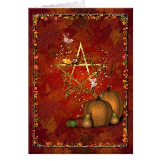 Samhain/OldeHallowmas/Martinmas Greeting Card