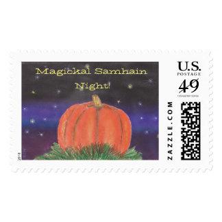 Samhain Pumpkin Night Postage