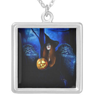 Samhain Witch Necklace