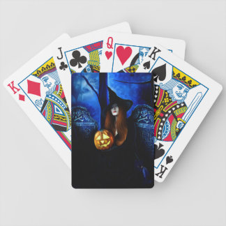 Samhain Witch Playing Cards