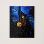 Samhain Witch Puzzle